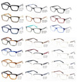 Hermoso al por mayor de Alta Calidad Marcos Ópticos del Acetato y Metal monturas de gafas para Hombre Gafas Accesorios Brille