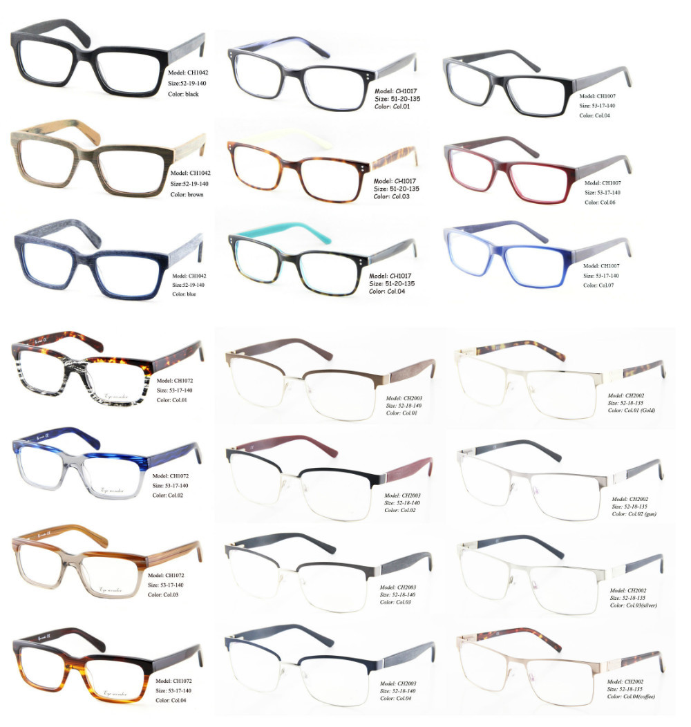 d834ee46f76 Wholesale High Quality Handsome Acetate Optical Frames and Metal Spectacle  frames for Men Eyewear Accessories Brille