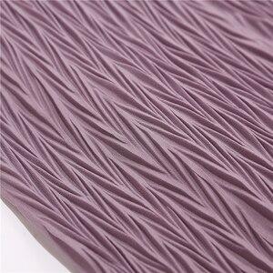 Image 3 - Châle plissé en mousseline de soie pour femmes, grande taille, Turban plissé, longue écharpe enveloppée, 180x85cm, nouvelle collection