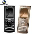 Оригинальный Nokia 6500 Classic Разблокирована 6500c Мобильный Телефон 3 Г Quad-Band Русский Поддержка клавиатуры телефона