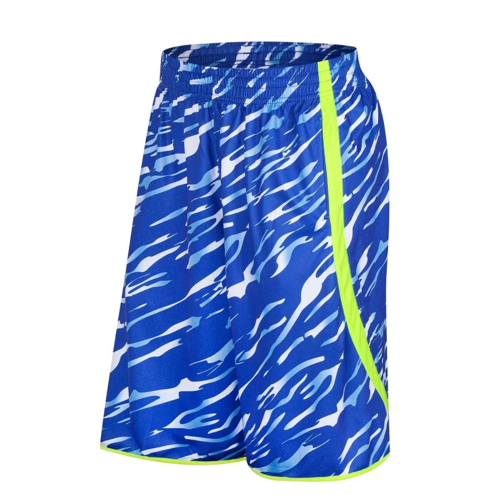 Mens basketball shorts on sale free shipping - Free Shipping 2017 New Men S Blue Basketball Shorts Knee Length Breathable Quick Dry Basketball Sports Running