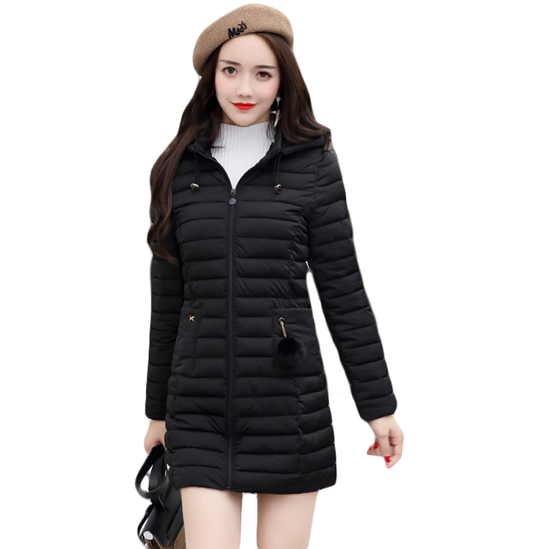 5XL Plus Size Ladies Fashion Winter Coats 2017 Casual Parkas Mujer Outwear Female Hooded Cotton-padded Medium Jackets CM1702 plus size 3xl ladies new fashion winter coats 2017 casual parkas mujer outwear female hooded cotton padded medium jackets cm1754