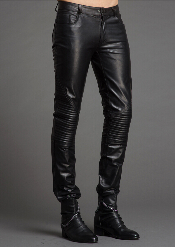 Mens Slim Black Jeans