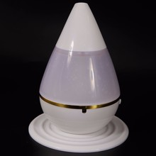 250mL Water Drop Shape Ultrsonic Atomization Humidifier White все цены