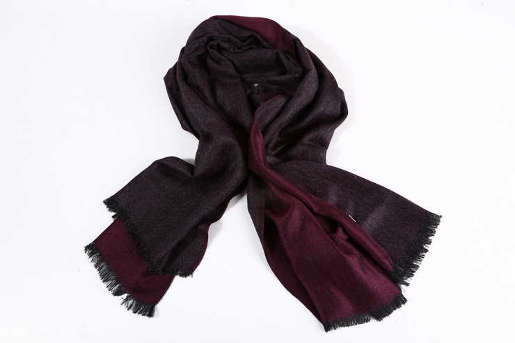 Bufanda de cachemir de marca de lujo para hombre, bufanda de moda de 2019, bufandas de invierno británica con borlas, bufandas cálidas para invierno, chal pashmina
