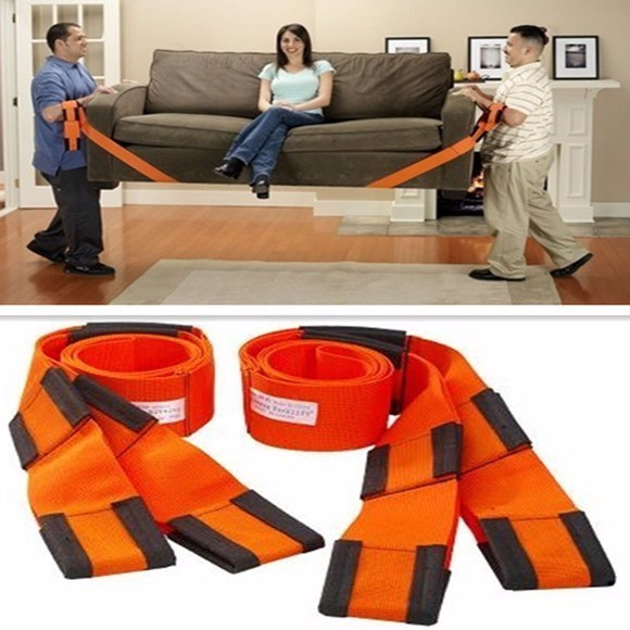 Retail Forearm Forklift Lifting Moving Strap Transport Belt Wrist Straps Furniture ZX010
