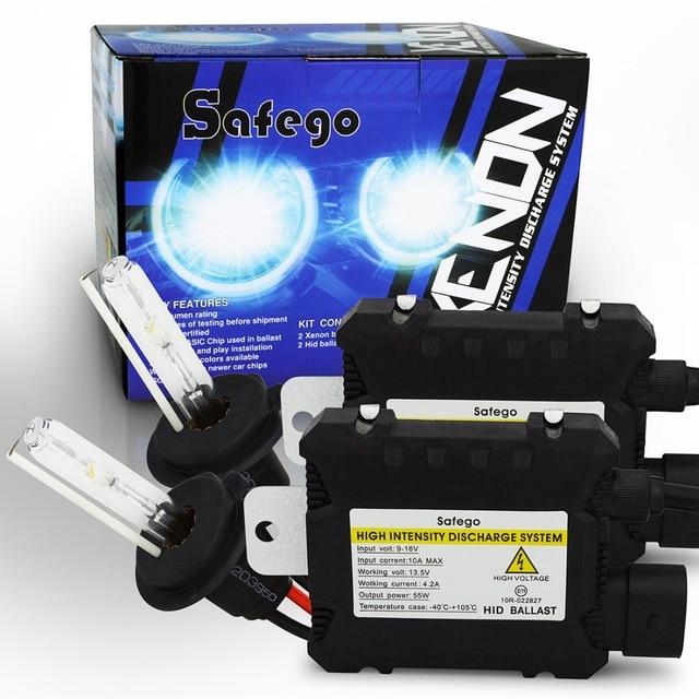 55 W hid kit xenon kit de 55 w H1 H3 H4 H7 H8 H9 H10 H11 H13 880 881 H27 9004 9005 HB3 HB4 9006 hid kit de conversión 4300 K 6000 K 8000 K
