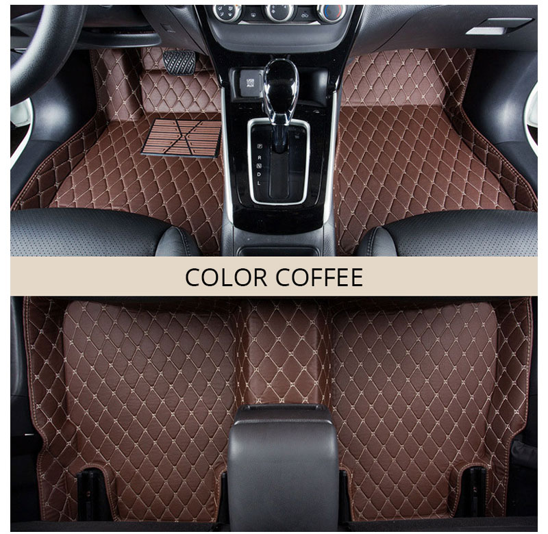For LHD Hyundai Kona Kauai 2018 2017 Floor Mats Custom Rug Auto Interior Foot Mat Pad Hyundai Encino Car Accessories Car-styling (3)