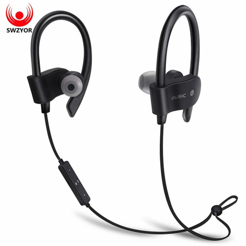 SWZYOR 56S Sports Wireless Bluetooth Earphone Sweatproof Stereo Earbuds Headset In-Ear Earphones with Mic for iPhone xiaomi