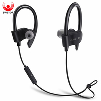 SWZYOR 56S Sports Wireless Bluetooth Earphone Sweatproof Stereo Earbuds Headset In Ear Earphones With Mic For