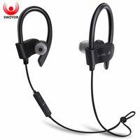 SWZYOR 56S Sports Wireless Bluetooth Earphone Sweatproof Stereo Earbuds Headset In Ear Earphones With Mic For
