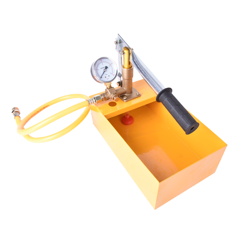 SYB-40 Manual water pipe pressure test pump 40 kg Copper pump body Manual pressure test  ...