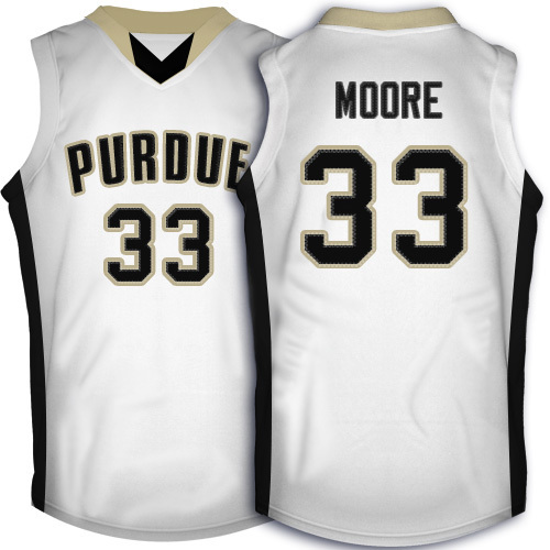 74000c99a Purdue Boilermakers #33 E Twaun Moore Jersey, Black White Retro Throwback  Men's Stitched College Basketball Jersey-in Basketball Jerseys from Sports  ...