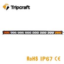 Tripcraft 43.2″ 240w led bar white amber combo beam car work light for offroad 4×4 truck SUV ATV BOAT 12V 24V ramp 20400LM lamp