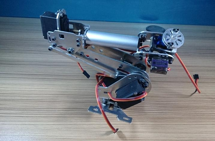 DIY 6 DOF robot arm  six-axis Manipulators industrial robot model robot without controller optimal and efficient motion planning of redundant robot manipulators