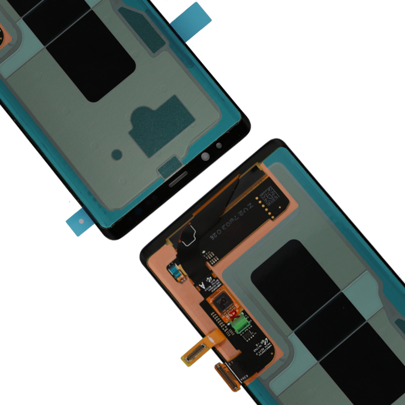 """HTB1YPHuKkKWBuNjy1zjq6AOypXaB New 6.3"""" Original AMOLED LCD Display For SAMSUNG Galaxy NOTE8 LCD N9500 N9500F LCD Display Touch Screen Replacement Parts+Frame"""