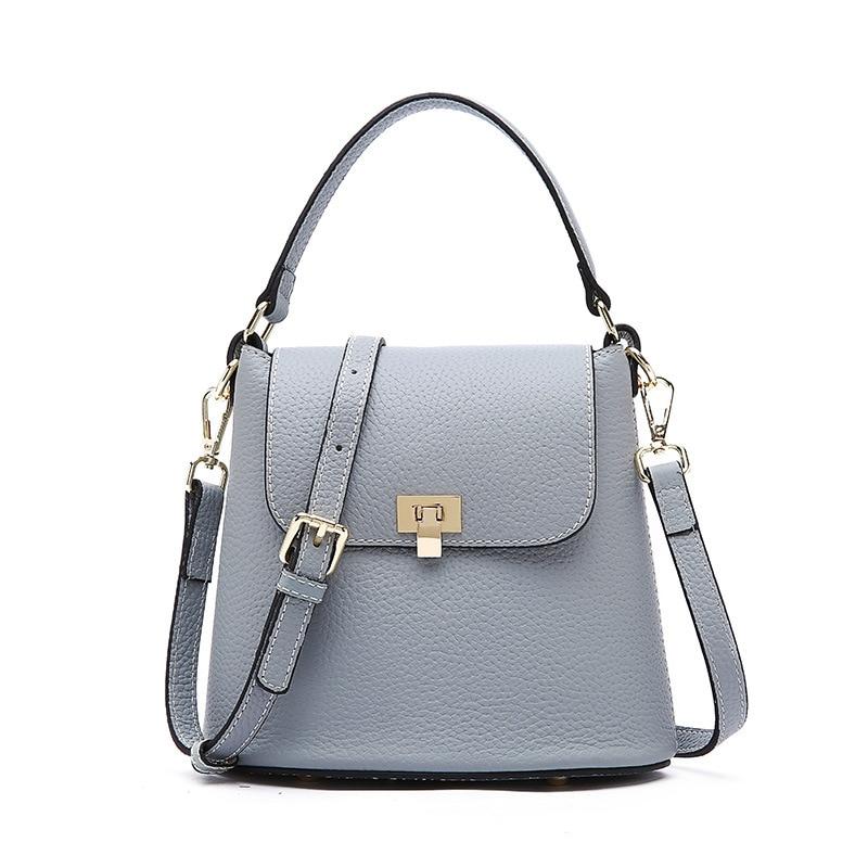 Kobiety małe torby luksusowe torba ze skóry naturalnej damska torba na ramię kobiet skóra bydlęca Crossbody torby dziewczyny modna torebka w Torby z uchwytem od Bagaże i torby na  Grupa 1