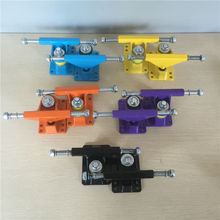 FISHBOARD Parts 3.25 inch peny board Trucks made by Aluminum with many color and good quality Trucks De Skate цена