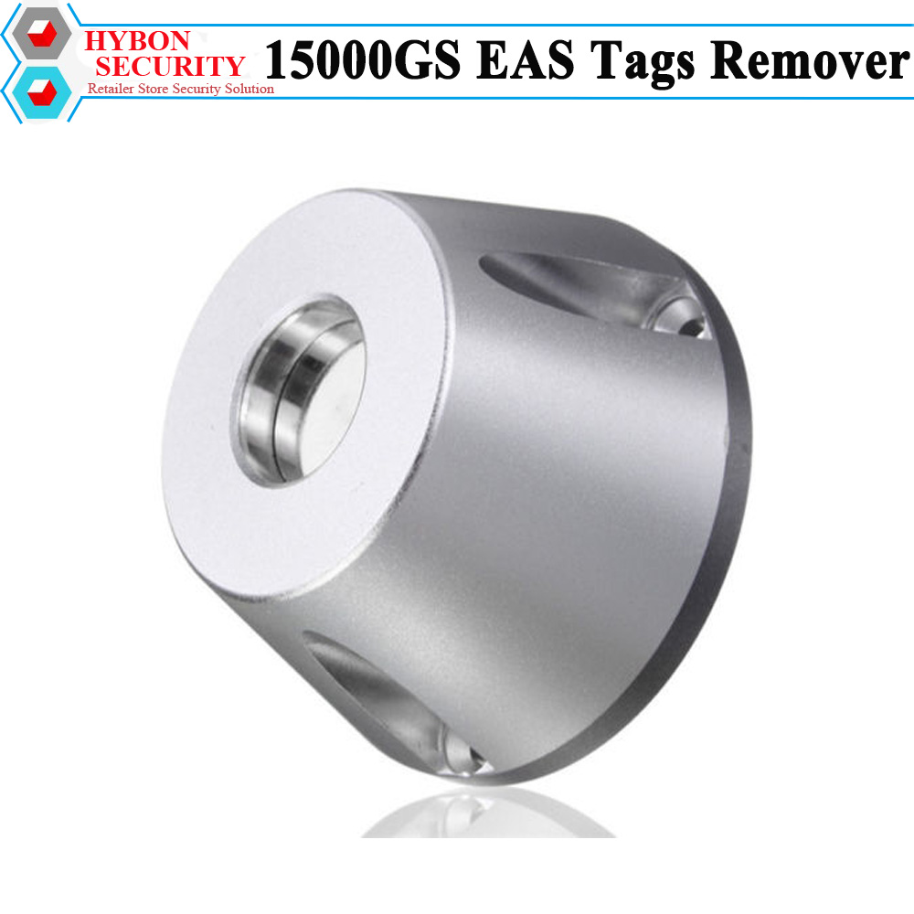 HYBON 15000GS Magnet Tag Remover for Clothing Store Security Tag Detacher 15000GS Magnetic Aimant Remover Ontkoppelaar hybon security super golf detacher 15000gs eas tag remover security magnetic detacher clothing tag remover llavero cuerda