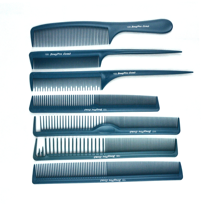 7 kom / lot Barber frizura u 7 dizajna antistatički češalj za kosu - Njega kose i styling - Foto 2