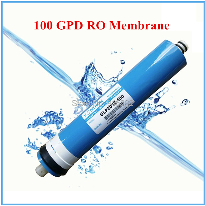 2014 New 100 GPD RO membrane 2 X 12  For RO membrane Housing Filter Used in RO water purifying Machine Free Shipping 2pcs