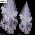 Дешевые Один слой Новый Белый Люкс Для Невесты Свадебное Платье Аксессуары Фата