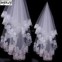 2015 Best Selling One Layer Ivory Bridal Bridesmaid Wedding Dress Accessories Veils