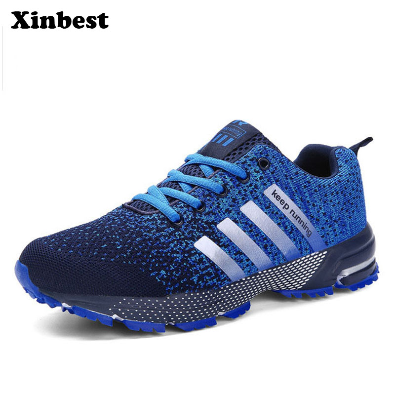 Xinbest Sports shoes Hot sale Breathable Male Light Weight Shoes Sneakers for man Adult  ...