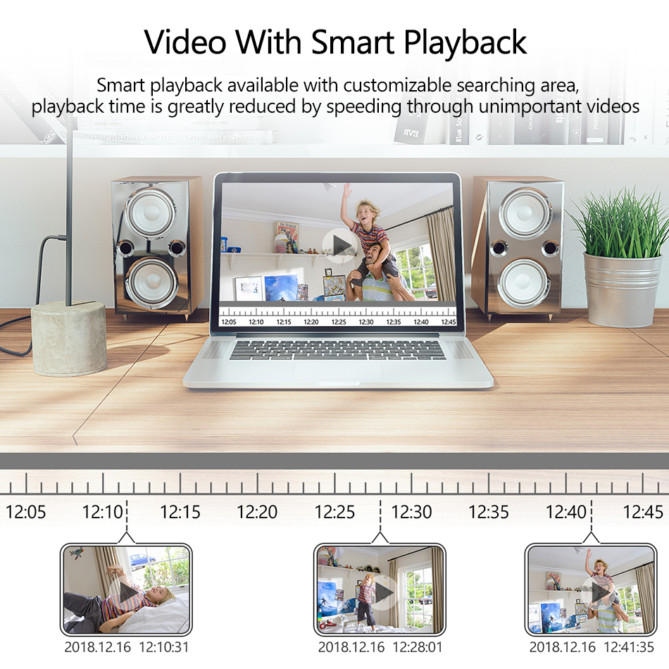 Image 5 - H.265 8CH 1080P HDMI POE NVR Kit Up To 16CH CCTV Security System 2MP Indoor Outdoor Audio Dome IP Camera Video Surveillance Set-in Surveillance System from Security & Protection