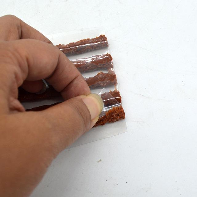 30pcs /6mm*200mm / Tyre Repairing Rubber Strips / Tire Repair Tools / rubber strips tyre repair