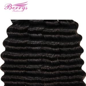 Image 4 - Berrys mechones de cabello largo ondulado suelto, moda, 10 28 mechones de cabello virgen pulgadas, 3 unidades/lote, 100% extensiones de cabello humano sin procesar