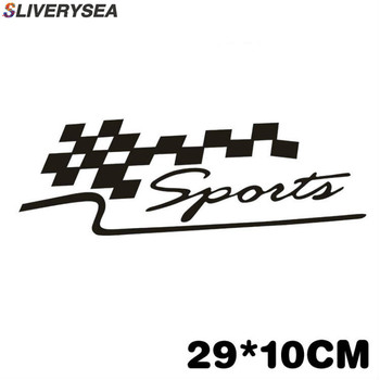 SLIVERYSEA 29*10CM Sport Stickers Decal On Car Covers Car Styling For BMW e46 e39 e36 e90 e60 x5 e53 e30 car Accessories #B1146 image