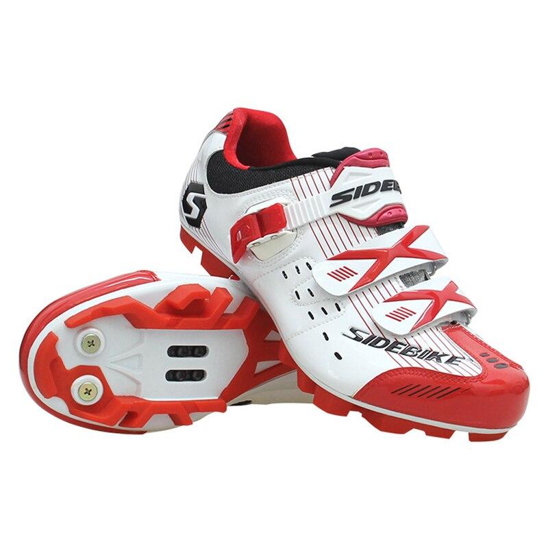 Chaussures de cyclisme professionnel entrée de gamme VTT chaussures de verrouillage antidérapant respirant VTT chaussures de vélo