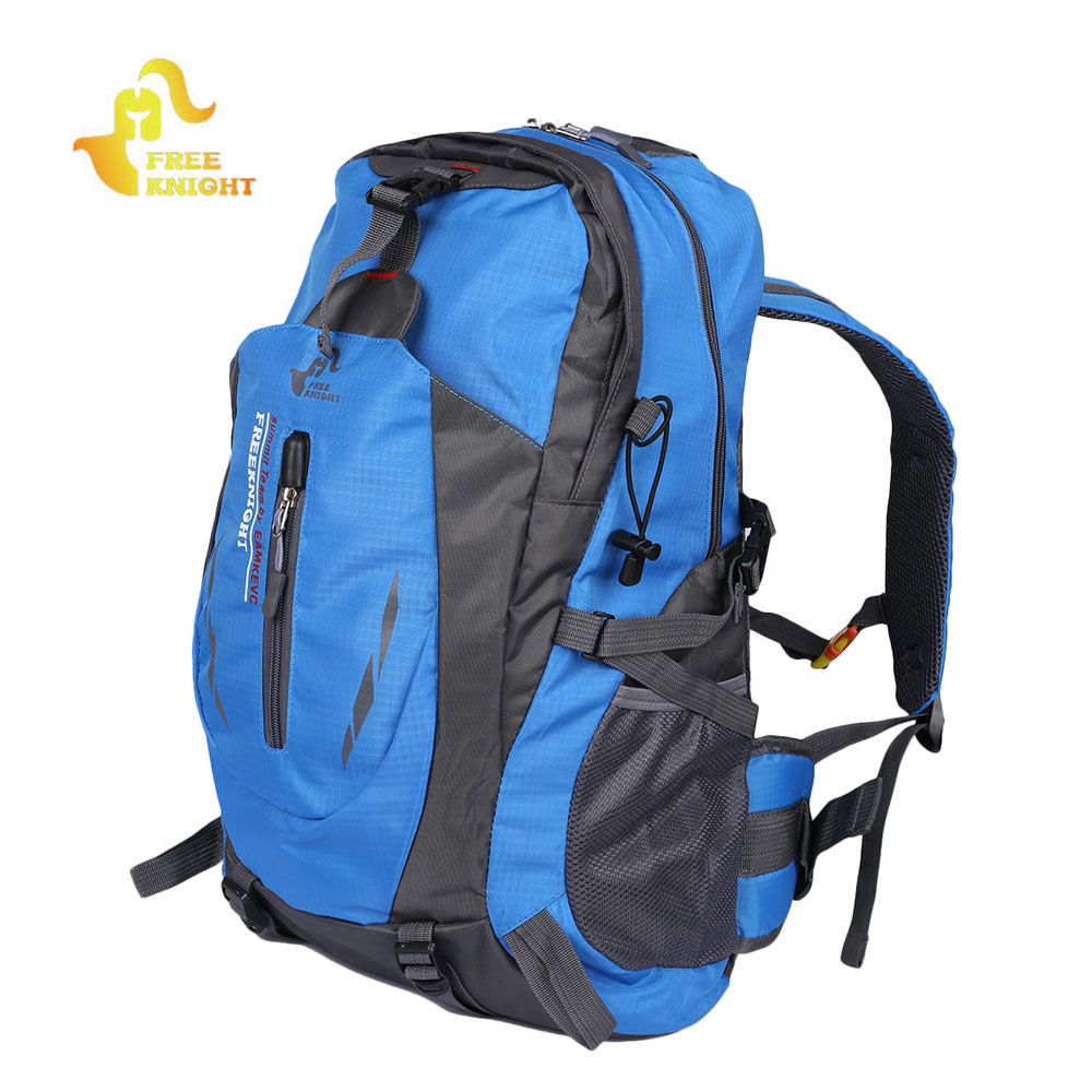 Free Knight 30L Travel Backpack Waterproof Trekking Backpack Climbing Mountaineering Bag Outdoor Sports Camping Hiking Backpack 30l professional ipx6 waterproof climbing bags camping hiking outdoor sport backpack trekking bag riding cycling travel knapsack