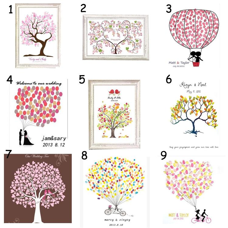 Fingerprint attendance draw creative fingerprint fingerprint tree