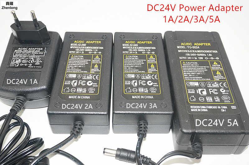 LED zasilacz DC12V/DC24V 2A 3A 4A 5A 7A do 12 V 24 V taśmy Led lampa oświetlenie zasilacz diod LED wtyczka POS karty kredytowej