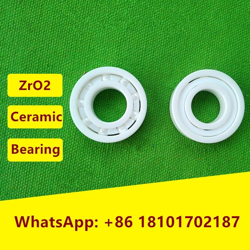 5pcs 6807 ZrO2 full Ceramic bearing 35x47x7 mm Zirconia Ceramic deep groove ball bearings  35*47*7 6806 full zro2 ceramic deep groove ball bearing 30x42x7mm 61806 full complement