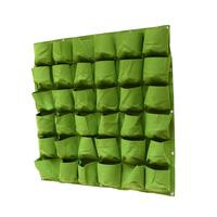 Felt 18 And 36 Pockets Hanging Type Nursery Bags Greenhouse Plant Grow Bag Wall Decoration Flowers Pot Hanger Garden Accessary