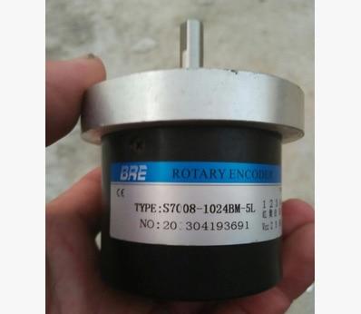 Rotary encoder   S7008-1024BM-5L   EB38F6-C4AR-200  S48-8-1000Z0  S38S-60BM-G5-24C nib rotary encoder e6b2 cwz6c 5 24vdc 800p r
