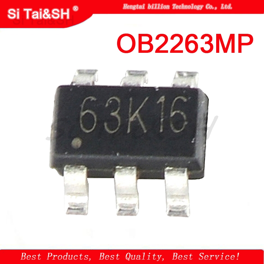 20pcs <font><b>OB2263MP</b></font> SOT23-6 OB2263 SOT OB2263AMP SMD new and original image