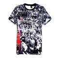 Печати футболка мужская Иордания последним ударом майка мужская с коротким рукавом печать футболки crewneck футболка 3d homme
