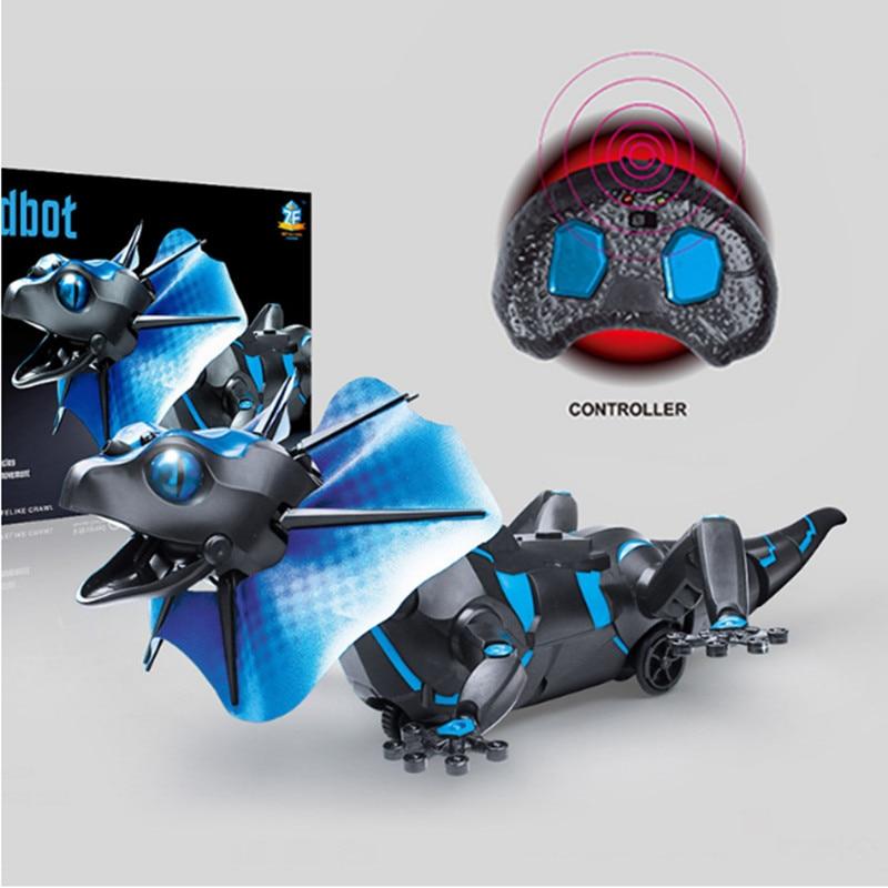 DA XIN Électrique RC Télécommande Lézard Robot Infrarouge Simulation Lézard Réaliste Crawl Drôle Tricky Jouets Pour Garçons