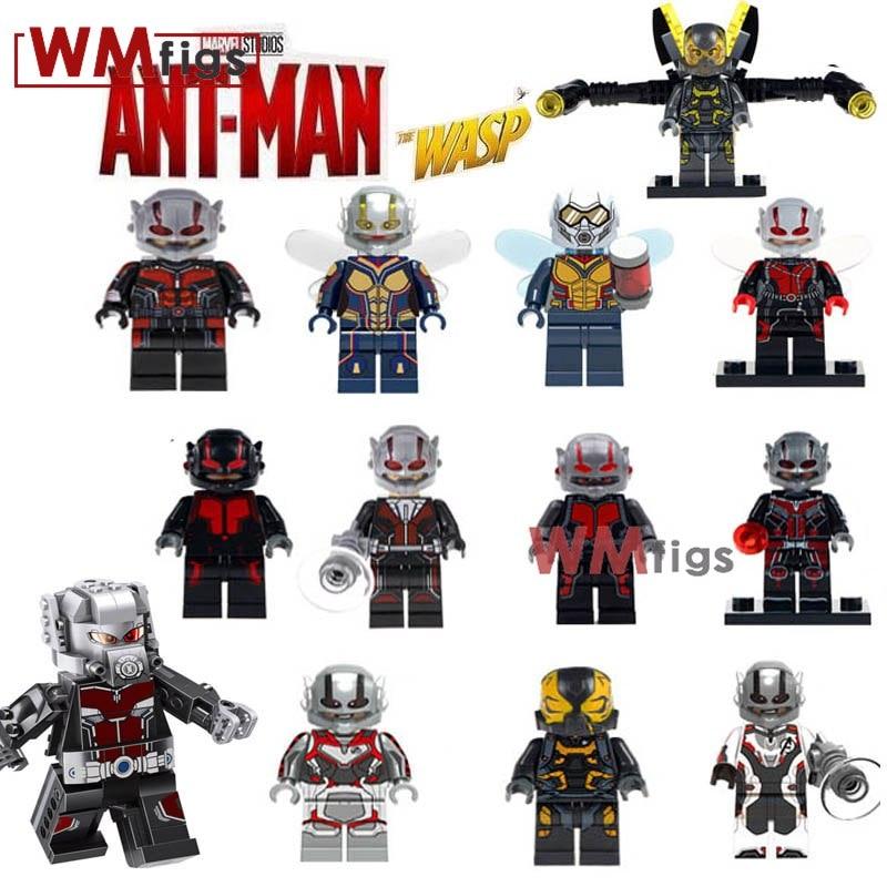 Single Legoings Marvel Ant Man Iron Man Legoings Friend building blocks bricks Kids gift toy for
