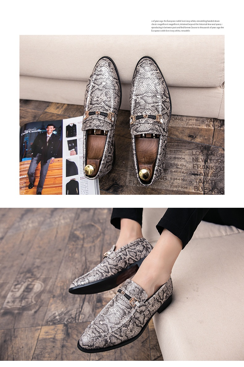 New Spring Autumn Man Dress Shoes fiber Pointed Toe Breathable Fashion Sleeve Business Wedding Oxford Formal Shoes for Meal (9)