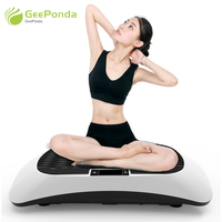 GeePonda Musical Fitness Vibration Platform Workout Machine Weight Loss Exercise Equipment Home Gym Slimming Vibration Plate