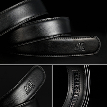 Luxury Genuine Leather Automatic Buckle Belt
