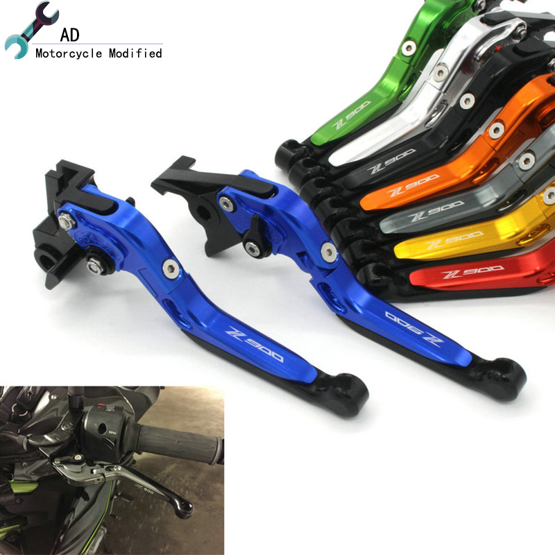 AD Z900 17 18 Clutch Brake Levers MotorbikeFor Kawasaki Z 900 2017 2018 Adjust Levers Moto Parts Motorcycle Accessories ! ad motor bike z900 2017 2018 clutch brake levers adjust lever moto parts for kawasaki z 900 17 18 motorcycle accessories