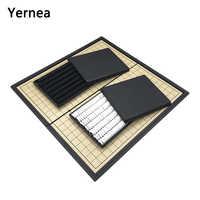 Yernea-Juego de entretenimiento plegable magnético para adultos y niños, piezas magnéticas para entrenamiento de ajedrez, regalo Wei qi