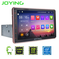 Joying Latest Single 1 DIN 8 Universal Android 5 1 Rose Gold Color Audio Video Stereo