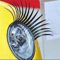 1 Par Styling Veículo Carro Adesivo Eye Lashes